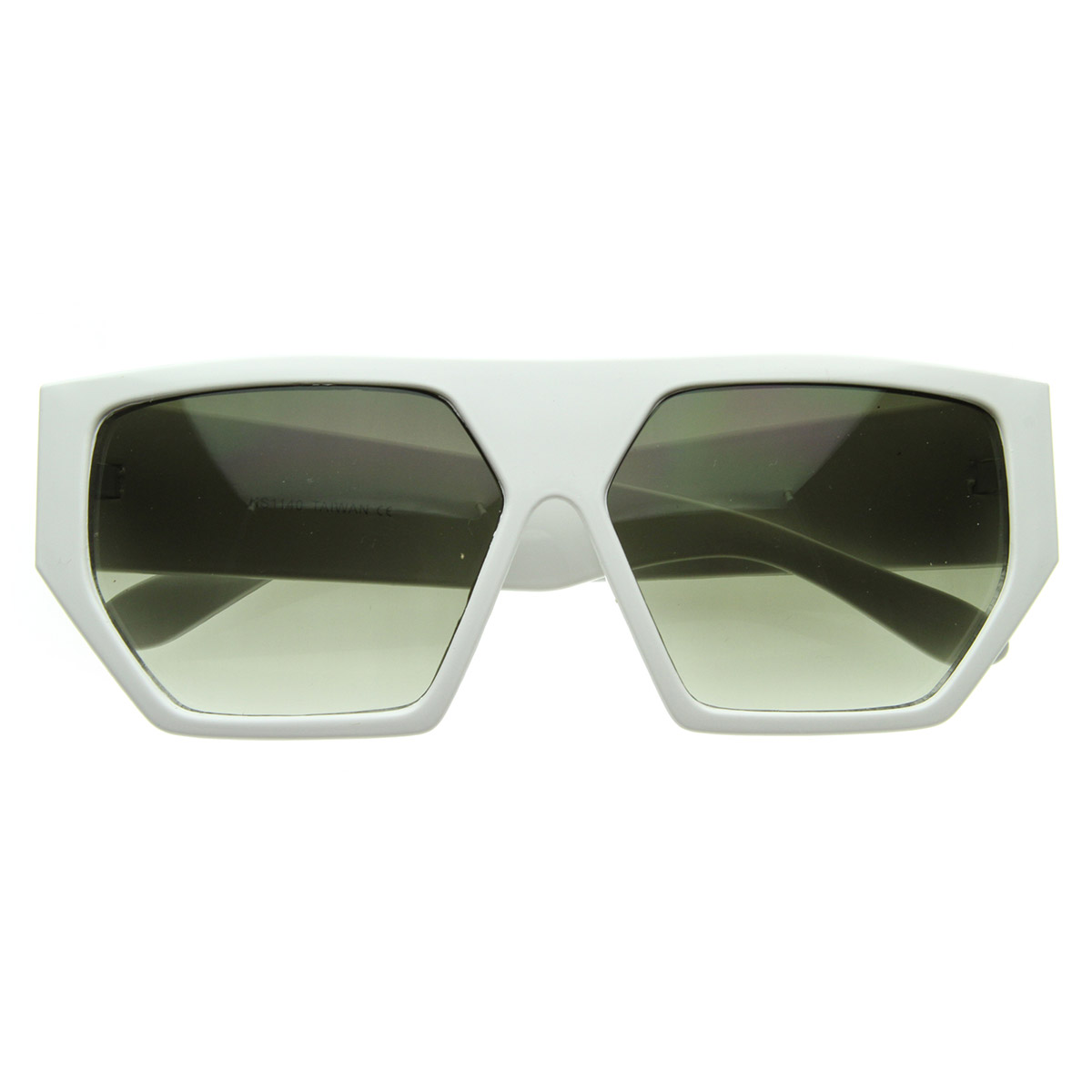 New Geometric Shades Funky Futuristic Flat Top Retro