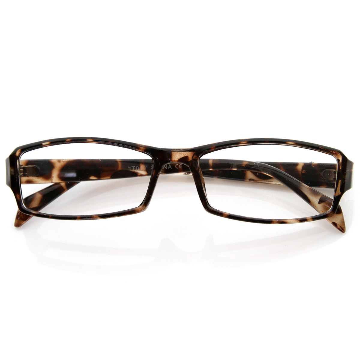 Large Rectangular Glasses Frame : Modern Rectangular Basic Frame Clear Lens Fashion Small ...