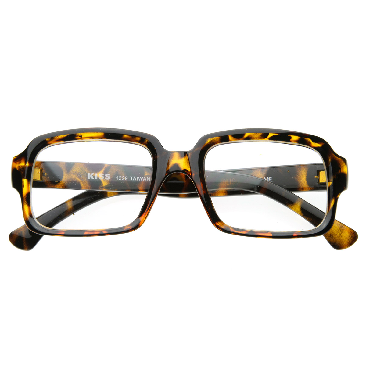 Big Thick Frame Glasses : Vintage Inspired Eyewear Thick Frame Bold Square Clear ...