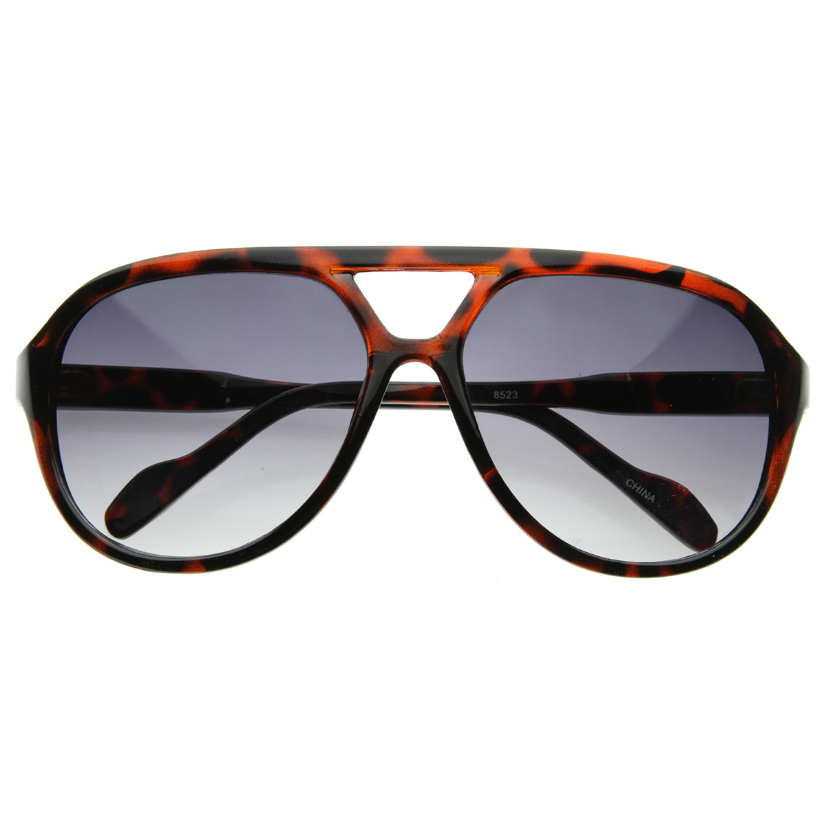 Retro-Fashion-Thick-Bold-Tear-Drop-Aviator-Sunglasses