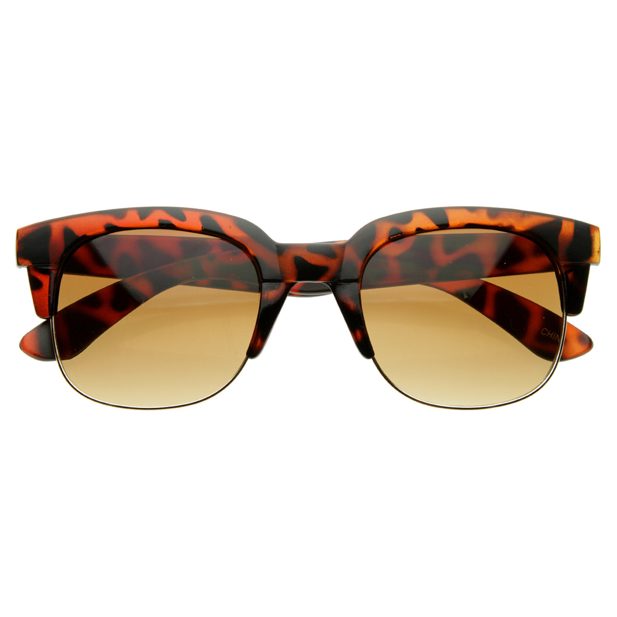 Half Frame Square Glasses : Super Square Modern Fashion Half Frame Retro Horn Rimmed ...