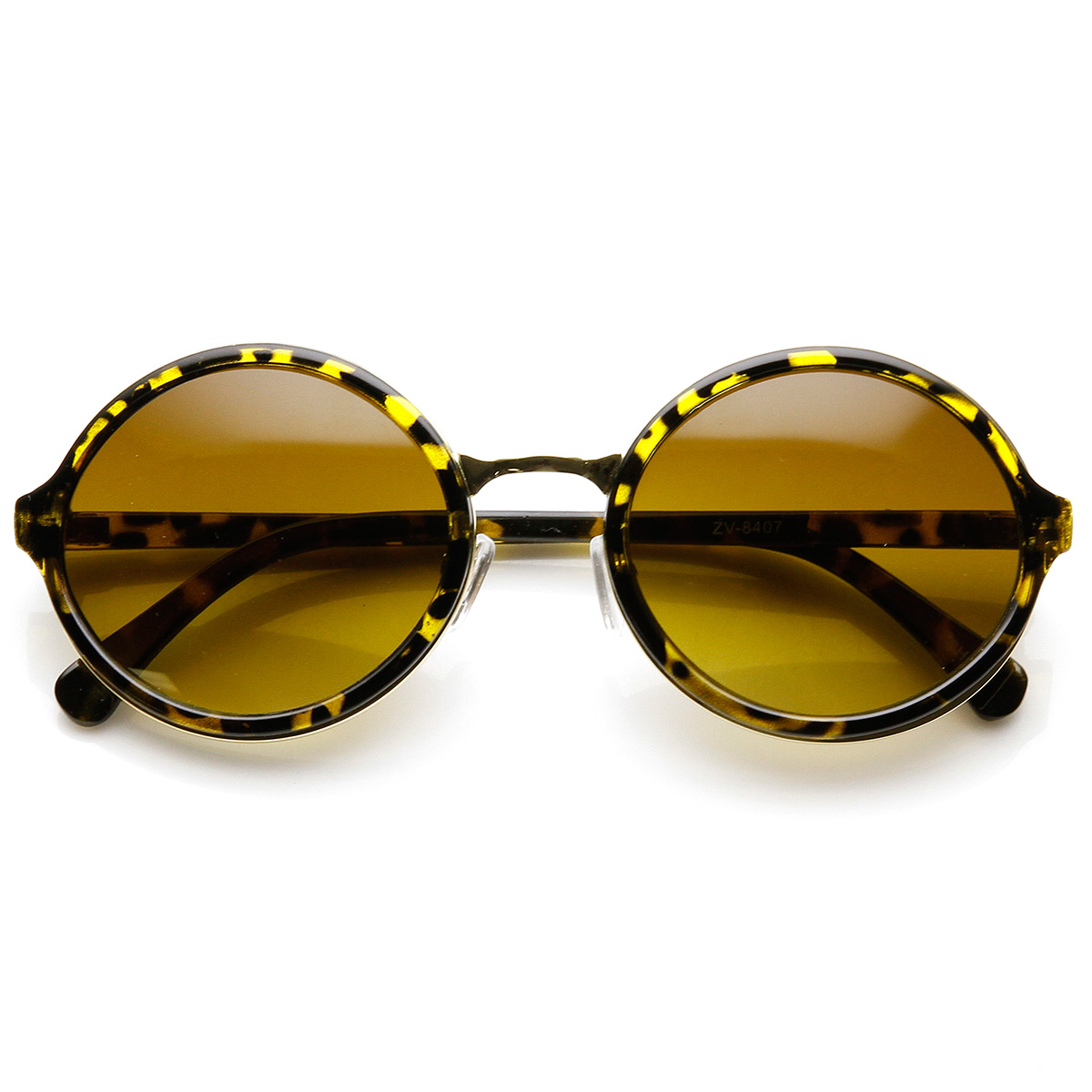 Vintage-Inspired-Classic-Round-Circle-Sunglasses-w-Metal-Bridge
