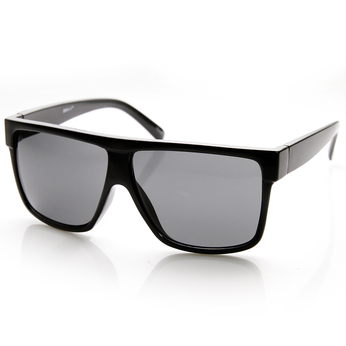 Designer-Inspired-Large-Flat-Top-Square-Plastic-Aviator-Sunglasses