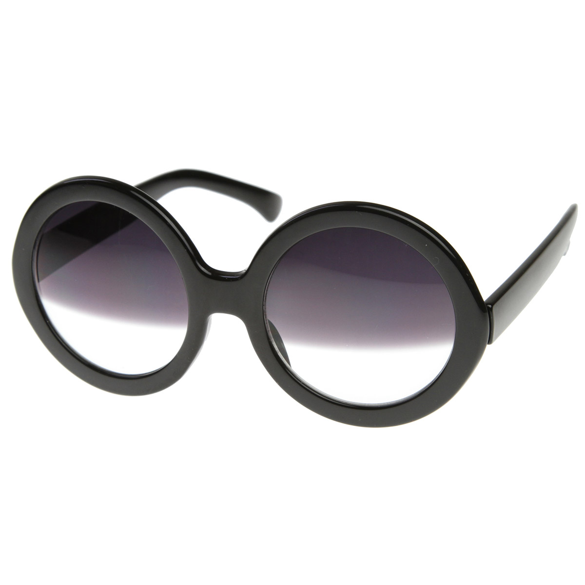 Designer-Inspired-Womens-Oversized-Round-Circle-Half-Tinted-Lens-Sunglasses