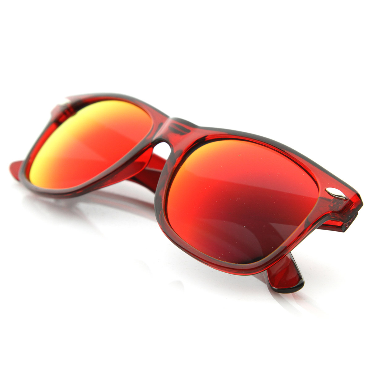 Classic-Retro-Fashion-Translucent-See-Through-Colorful-Horn-Rimmed-Sunglasses