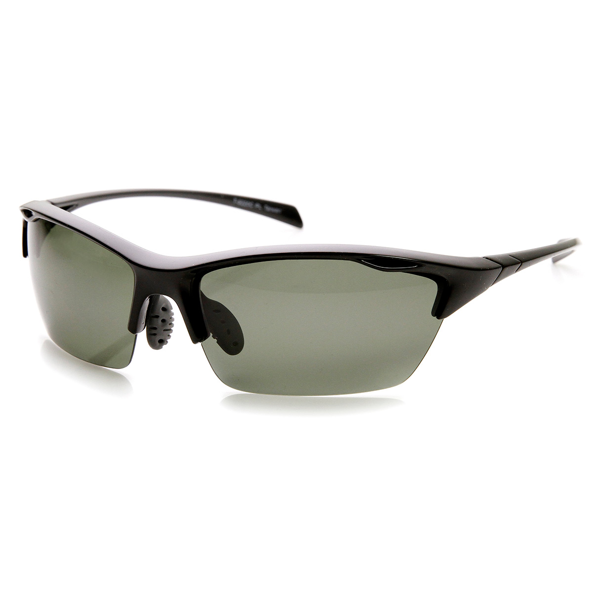 Rimless Glasses Durability : Durable TR-90 Polarized Lens Semi-Rimless Extreme Sports ...