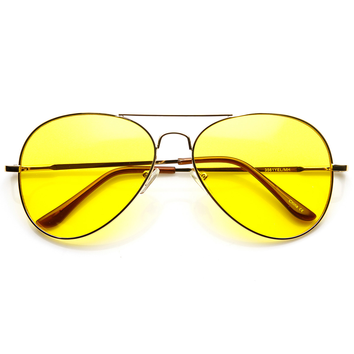Yellow Lens Sunglasses Perfect for both indoor and outdoor use, yellow lenses will increase visibility and depth perception in dim lighting or overcast weather. Recommended Price Low to High Price High to Low Customer Rating Name Newest.