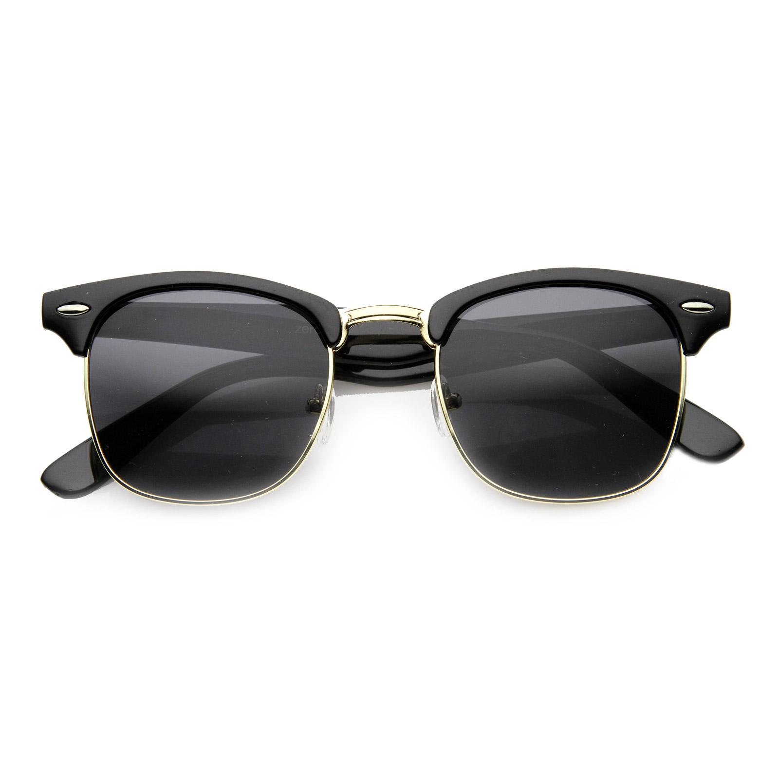 Noble Vintage Horn Rimmed Sunglasses