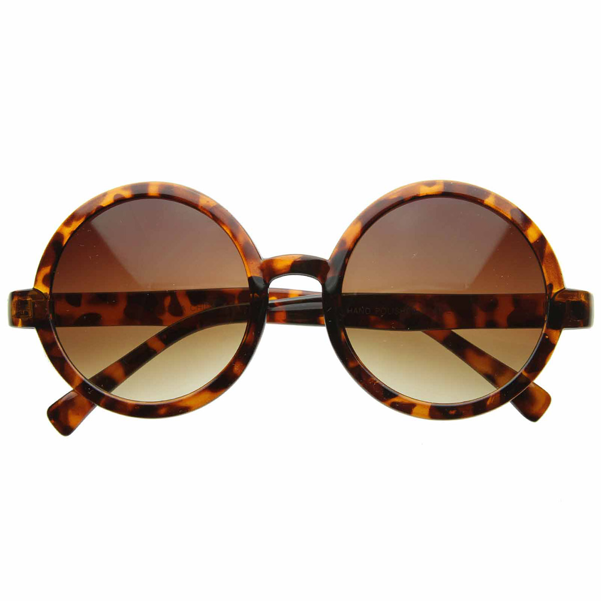 sunglassLA Cute Mod-era Vintage Inspired Round Circle ...